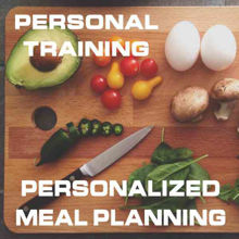 Personal Training and Personalized Meal Planning